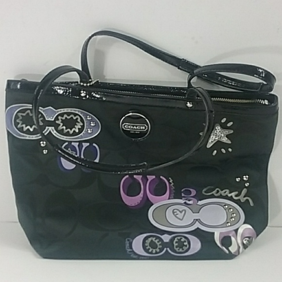 Coach tote bag F17587 with coach outer take home b 102088d76515a